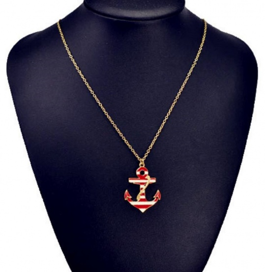 Anchor Necklace - Trinket Square