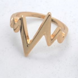Heartbeat Ring - Gold - Trinket Square