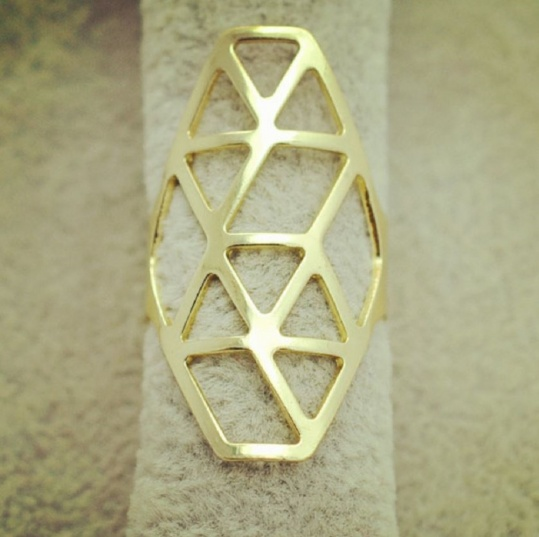 Athena Ring - Gold - Trinket Square