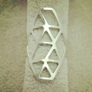 Athena Ring - Silver - Trinket Square