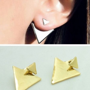 Triangle Earrings - Trinket Square