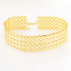 Gold Bling Choker - Trinket Square (1)