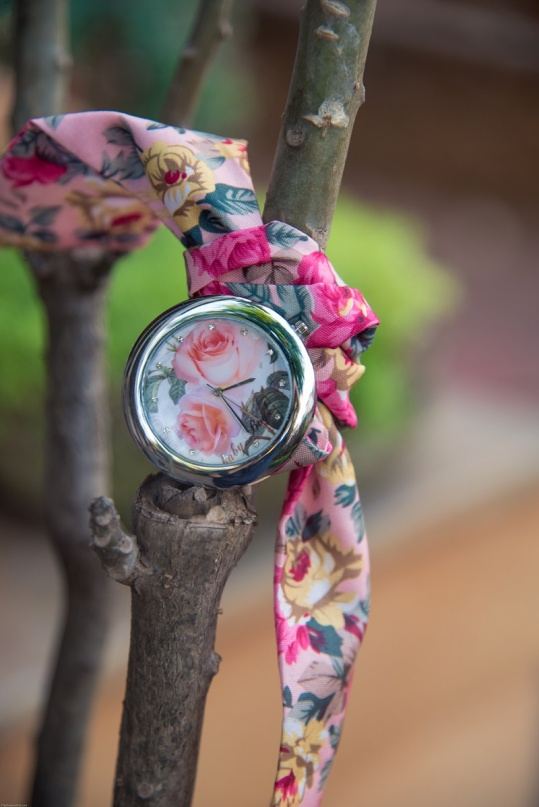 Pretty Floral Watch - Trinket Square