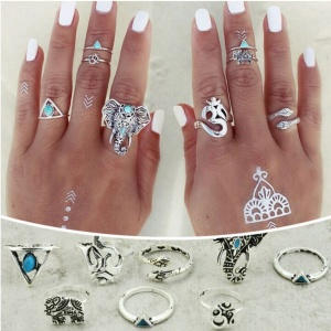 Elephanto Ring Set - Trinket Square (2)