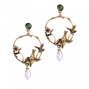 Bird Of Paradise Earrings - Trinket Square