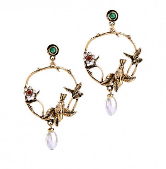 Bird Of Paradise Earrings - Trinket Square